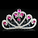 Alloy With Rhinestones Wedding Flower Girl Tiara/ Headpiece