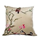 Cushion Cover-Brush Painting bird IV