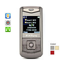 Fashionable Slide Cell Phone with Dual SIM (Quadband)