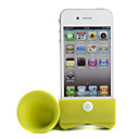 Cute iPhone 4 Horn Stand Speaker(Green)