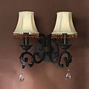 2-light Glass Wall Sconce
