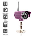 Waterproof IP Camera with Sensor (Night Vision, Email Alert)