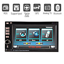 "6.2 ""pantalla digital táctil 2 Din Car DVD-panel desmontable-radio-tv-bt-ipod-gps-control del volante (szc3055)"