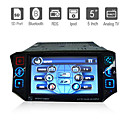 5 Inch Digital Touchscreen 1Din Car DVD Player with Bluetooth TV RDS