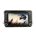 7 pulgadas de coches reproductor de DVD para gps volkswagen con DVB-T RDS Bluetooth