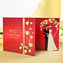 &quot;The Best Romantic Wedding&quot; Bride &amp; Groom Wedding Invitation (Set of 60)
