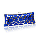 Silk/ Stainless Steel With Austria Rhinestones Evening Handbags/ Clutches/ Novelty More Colors Available
