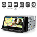 7 Inch Digital Touchscreen 2Din Car DVD Player with Bluetooth TV RDS PIP