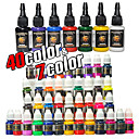 47 Bottles of Tattoo Ink / 40*8mL and 7*15mL