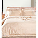 Tiger Lucas® Cotton/Viscose 4-piece Queen Duvet Cover Set