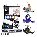 Complete Set Tattoo Kits With 3 Tattoo Guns Of Different Style