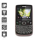 Dual SIM 2.5 Inch Qwerty Keyboard Cell Phone (WIFI Dual Camera JAVA 3G)