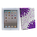 Bling Crystal Diamond Cover Case for iPad 2(purple+)