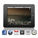 Cortex A8 - Android 2.2 tableta con pantalla tctil de 8 pulgadas + wifi + Flash Player 10.2 (plata)
