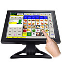 15 pollici touchscreen display lcd con vga per pos e casa