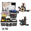 Kit de Tatouage 2 Pistolets avec puissance LCD et 20 encres de couleur (+encre gratuite)