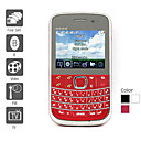 Four SIM 2.4 Inch Qwerty Keyboard Cell Phone (TV, FM)