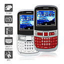 Trio - Triple SIM Mobile Phone with QWERTY keyboard (TV, FM, Bluetooth)