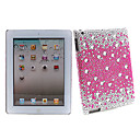 Bling Crystal Diamond Cover Case for iPad 2(Pink)