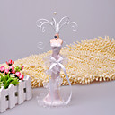 White Mermaid Dress Jewelry Stand