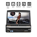 7 Inch Car DVD Player with Detachable Panel PIP RDS Bluetooth TV