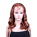 "Capless Fashion Big Curly 16"" 100% Human Hair Wig 5 Colors To Choose"