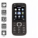 3g dual sim cellulare 2,2 pollici (doppia fotocamera, bluetooth, mp3, mp4)