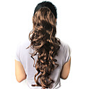 High Quality Synthetic 21.63&quot; Dark Brown Curly Ponytail