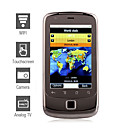 G5000 - Daul SIM tlphone portable 3,4 pouces cran tactile (souris wifi java double camra optique)