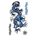 5 Stück dragon wasserdicht temporäres Tattoo (17,5 cm * 10cm)