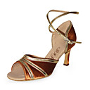 Satin/Leatherette Upper Women High Heel Latin Dance Shoes Ballroom Practice Shoes