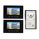 Slim Design 7 Inch Photographed Video Door Phone (2 Touch Screens)
