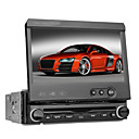DVD Player Automotivo 1 Din 7 polegadas Bluetooth RDS DVB-T