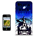 Black Rock Shooter Midnight Version Anime Case for iPhone 4/4s