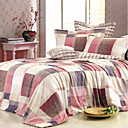 Elegant Living Cotton 4-piece Full / Queen Duvet Cover Set