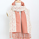 TS Lace Embroidered Wool Scarf