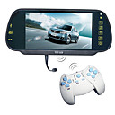 7 Inch TFT-LCD Car Rearview Monitor (MP4, Bluetooth, FM Transmitter, Game, USB/SD)