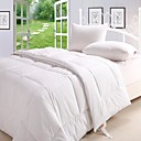 White Polyester Solid 300 Thread Count Full/Queen-size Down Alternative