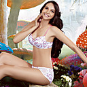 Cotton With Patterned  Lightly Lined Demi Cup Teenager School Wear Underwear Set