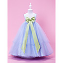 Charming Ball Gown with Bow Belt Flower Girl Dress