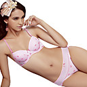 Cotton With Sweetheart Demi Cup  Unlined Teenager School Wear Underwear Set More Colors