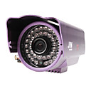Weatherproof CCTV Camera with 1/3 Inch Sony CCD (8mm Lens, 12 IR LEDs)