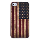 Vintage US Flag Pattern Hard Case for iPhone 4/4S (Union Jack)