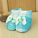 Blue And White Woven Favor Holder (Set of 12)