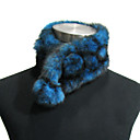 Top Seller – High Quality 100% Handmade Rex Rabbit Fur Winter Scarf (More Colors)