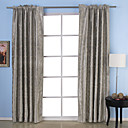 (Two Panels) Memory Embossed Blackout Thermal Curtains