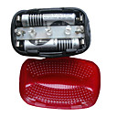 Bicycle 5-LED Tail Light Laser Light Beam Rear Tail 3 LED Light Lamp