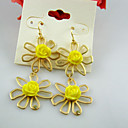 Sun Flower Accent Earrings