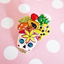 Skull &amp; Fruits Embellished Ring