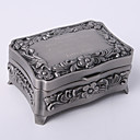 Personalized Vintage Tutania Rectangle Jewelry Box